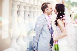 Beautiful Romantic Wedding Couple Full Hd Wallpaper Min Cocobay Resort